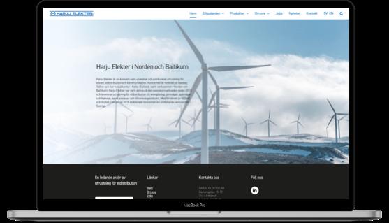 Harju Elekter har skaffat digital synlighet i Västerås